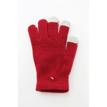 Unisex Touch Screen Gloves Dark Red